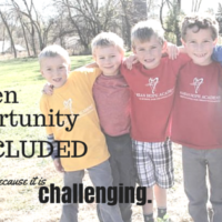 Inclusion is Challenging, but...